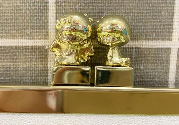 【震撼精品百貨】Little Twin Stars KiKi&LaLa 雙子星小天使~三麗鷗日本長夾/手拿包-立體珠扣#25243