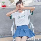 白色t恤女短袖夏裝2018新款韓版原宿bf寬鬆學生半袖上衣網紅同款  圖拉斯3C百貨