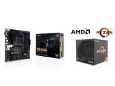 (C+M)華碩 TUF GAMING A520M-PLUS + AMD R5 3600 六核12緒處理器【刷卡含稅價】