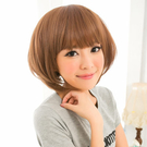 小碎齊瀏海髮BOBO短髮【201AE】HOT!材質再升級新耐熱假髮☆雙兒網☆