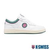 K-SWISS North Court時尚運動鞋-女-白/綠/桃紅