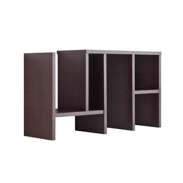 書櫃 書架 收納【收納屋】伸縮置物收納書架-胡桃木色&DIY組合傢俱
