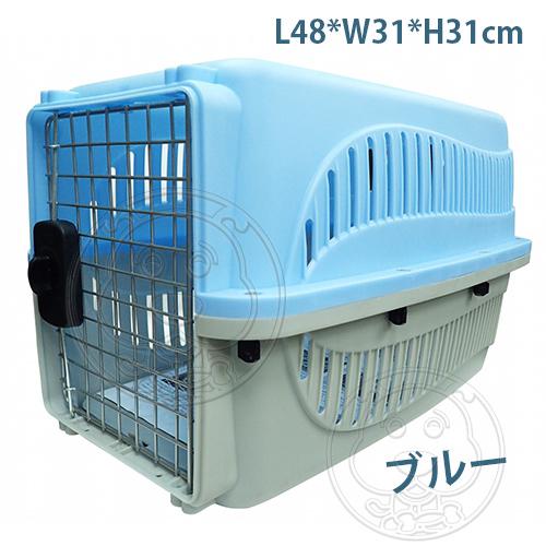 【培菓平價寵物網】PettyMan》E3001/02新型運輸籠(小)-48*31*31cm