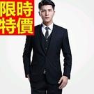 男款韓版西裝套裝品味-合身剪裁隨性與眾不同流行成套男西服3色54o12【巴黎精品】