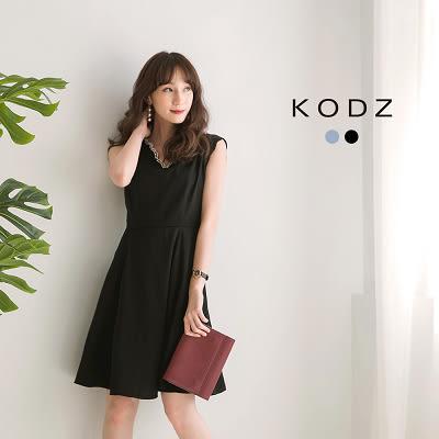 東京著衣【KODZ】復古電影版珍珠小洋裝聯名款-S.M.L(171758)