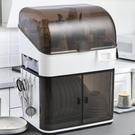 瀝水架 調料置物架廚房用品碗柜家用套裝組合放碗筷瀝水收納盒多功能架子 快速出貨
