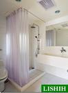 【麗室衛浴】圓弧型不鏽鋼浴簾架 B-397-1 L型不鏽鋼浴簾架B-396-1 可以訂製