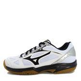 Mizuno Cyclone Speed 2 [V1GC198009] 美津濃 運動鞋 女 排球 羽球  白  黑