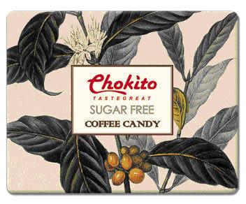 西班牙【Chokito】無糖超濃咖啡糖(硬糖)  50g
