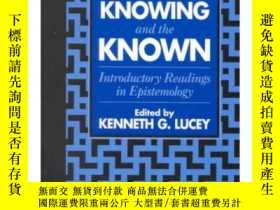 二手書博民逛書店On罕見Knowing and the Known introd