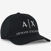 A/X 阿瑪尼縫標標誌黑色帽子