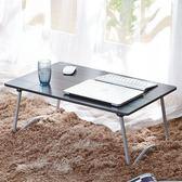 筆電桌 筆記本電腦桌做床上用懶人桌小桌子簡約可折疊書桌【店慶滿月限時八折】