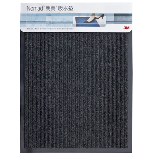 3M 朗美吸水墊-灰色(45x60cm)【愛買】