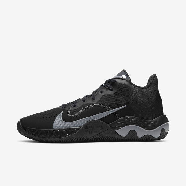 Nike Renew Elevate [CK2670-001] 男鞋 運動 籃球 支撐 抓地力 舒適 穩定 靈敏 黑 灰
