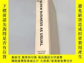 二手書博民逛書店SCREW罕見BUSINESS AS USUALY246305