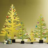 簡意空間圣誕裝飾品綠色圣誕樹/商場擺臺裝飾