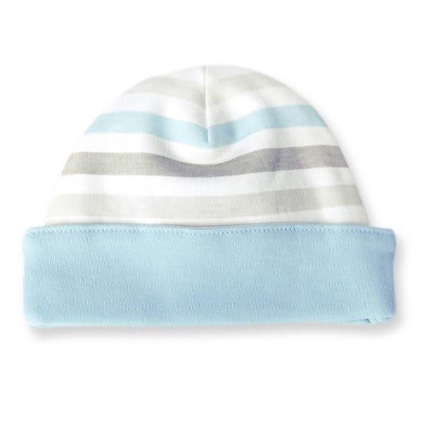 有機棉 寶寶帽/嬰兒帽 美國 Finn + Emma - 有機棉 男寶寶帽 -Stripe 款 B01-0603bb