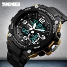 []正品男士時尚手錶戶外多功能運動防水潮流特種兵霸氣電子錶