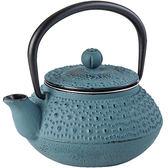 《IBILI》Manaos鑄鐵濾茶壺(灰藍300ml)