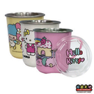 【收藏天地】正版授權*Hello Kitty不鏽鋼杯(3款) / 送禮 卡通 可愛 裝飾 禮品 正版