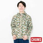 CHUMS 日本 男 Ladybug防風外套 腳掌迷彩 CH041075Z086