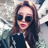女生墨鏡   韓版開車墨鏡女潮款復古百搭度假眼鏡大框偏光沙灘太陽鏡   ciyo黛雅