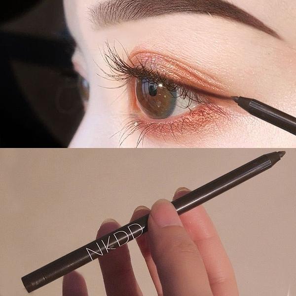 偽素顏 棕色眼線膠筆 防水防汗眼線筆 持久不掉色不暈染學生新手眼線筆