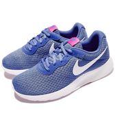 Nike 休閒鞋 Wmns Tanjun 藍 白 百搭 基本款 運動鞋 女鞋【PUMP306】 812655-403
