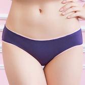 華歌爾-親膚棉簡單系列M-LL低腰三角褲(星空藍)QS6303-BQ