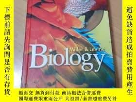 二手書博民逛書店Miller罕見& Levine Biology【精裝】原版全英