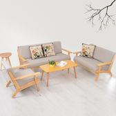 布藝沙發小戶型實木北歐宜家單人雙人三人可拆洗簡易客廳沙發椅xw  免運