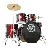 邁斯MES架子鼓成人5鼓3镲4镲初學者入門爵士鼓Q7專業演奏  免運