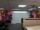 (YG-071)情意花坊永和花店超級商城派對氣球佈置/活動會場佈置/尾牙佈置-辦公室內活動佈置