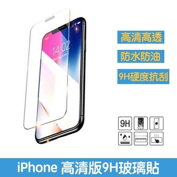 $1元【高透光螢幕玻璃貼】防水防塵玻璃貼 iPhone X、XS Max、XR、XS、iPhone11、iPhone11 Pro 螢幕保護貼
