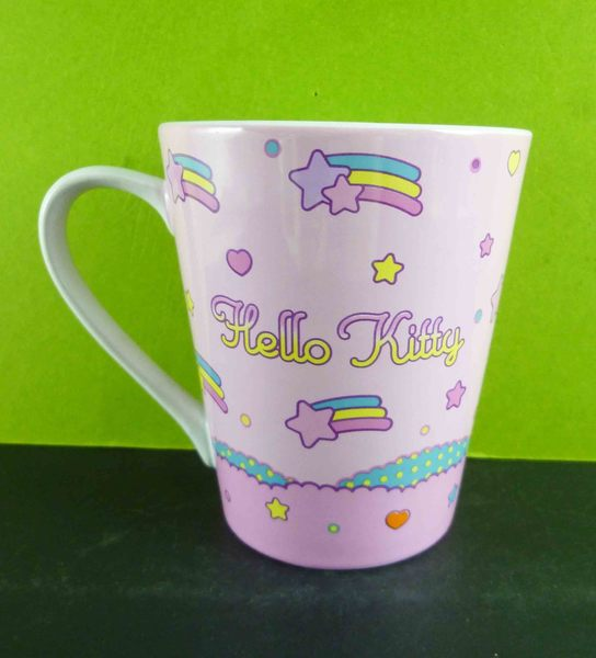 【震撼精品百貨】Hello Kitty 凱蒂貓~馬克杯-夢彩虹
