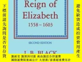 二手書博民逛書店The罕見Reign Of Elizabeth, 1558-16