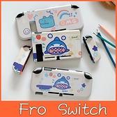 Switch保護殼 鱷魚鯊魚 Switch彩繪保護殼 Switch保護套 一體成形 分體可拆 Switch Lite