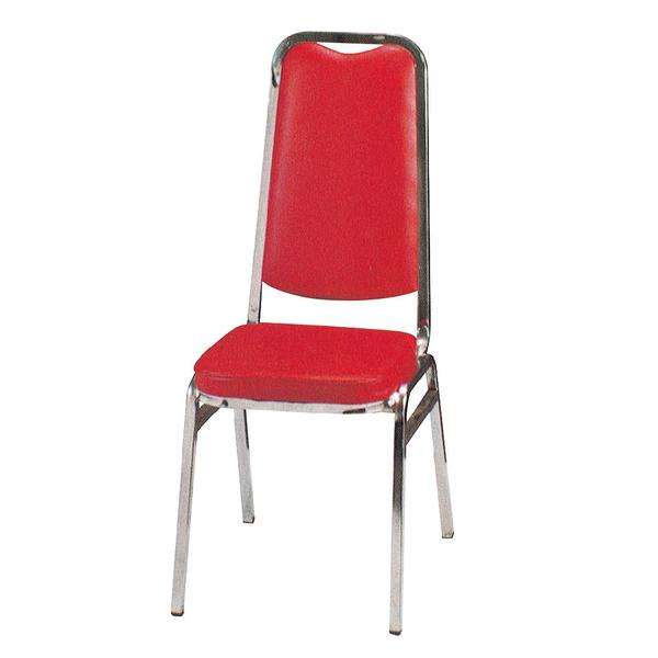 【采桔家居】魯格 時尚皮革造型餐椅二入(二色可選)