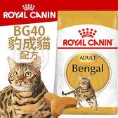 【zoo寵物商城】FBN 新皇家豹成貓BG40 2KG
