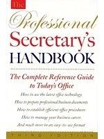 二手書博民逛書店 《The Professional Secretary s Handbook》 R2Y ISBN:0395696216│MaryA.DeVries