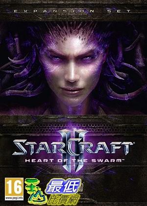 [7美國直購] 2018 amazon 亞馬遜暢銷軟體 StarCraft II  Heart of the Swarm Expansion Pack