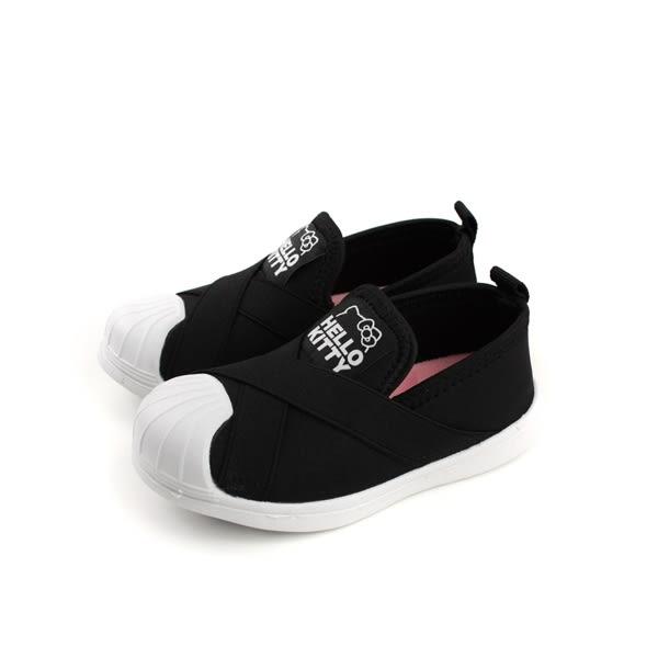 Hello Kitty 懶人鞋 童鞋 黑色 中童 童鞋 718771 no775