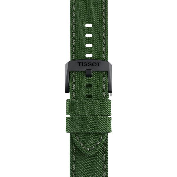 TISSOT天梭 韻馳系列 Chrono XL計時手錶-綠x黑框/45mm T1166173709700