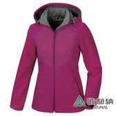 《歐都納 ATUNS》女 Windstopper 防風保暖外套 『紫紅』G1561W