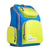 airbobo氣墊減壓護脊書包-經典款-藍天
