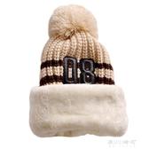秋冬季寶寶帽子可愛女童男童加絨防風兒童圍脖一體保暖套頭帽 潮    東川崎町