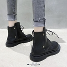 馬丁靴 秋鞋新款英倫風女短靴百搭潮秋冬時尚瘦瘦靴 - 古梵希