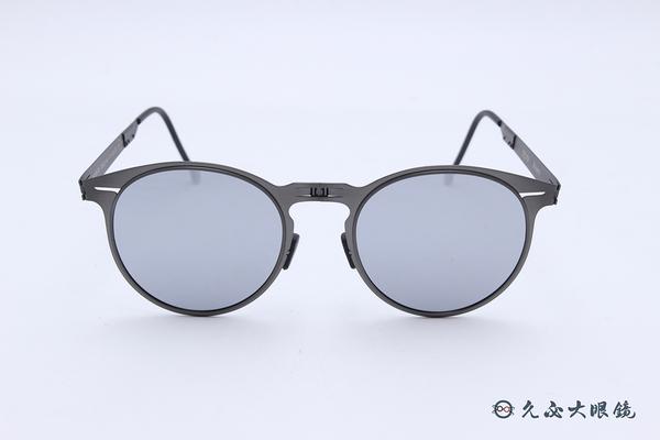 ROAV 偏光太陽眼鏡 Riviera - Mod.8103 ( 鐵灰框/白水銀 ) 薄鋼折疊墨鏡
