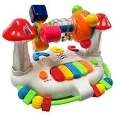 嬰兒童早教搖鈴旋轉床鈴6-12個月男孩女寶寶益智力玩具1-2-3周歲YYJ 易家樂