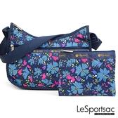 LeSportsac - Standard側背水餃包/流浪包-附化妝包 (花樣繽紛) 7520P F801